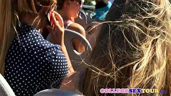 bissex outdoor 5 sex teen party Big dick like blonde