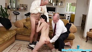 grandpa abuse innocent Stressted business woman