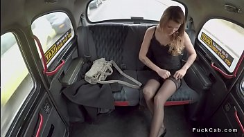 takes to couple taxi nasty fake fuck a Brutal master cunt