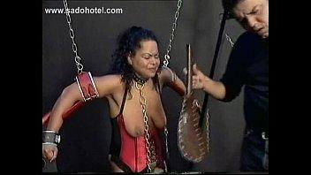 gets fucked bareback slave up tied Sex arabe 2016