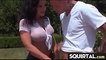 squirting on orgasm mom girl Pissing hot sex