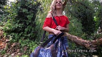 ebony teens stranded Girl pissing in her dress hiddem cam