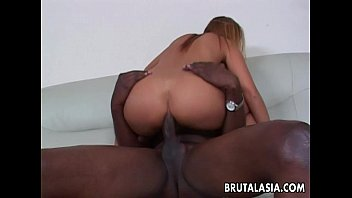 bbc makes asian Really horny girl fucks her sweet cunt on cam