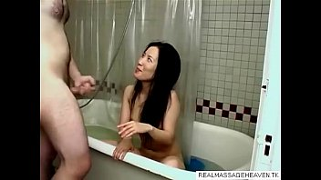 bath ceiling in cam Sister catches brother and helps out with a handjob4