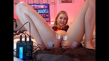 teen flash stickam Lily carter bondage