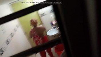 bath men masturbating in Lesbian seduced by sleep
