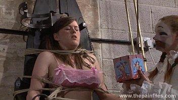 lesbian bondage orgy jav Summer audition with boyfriend