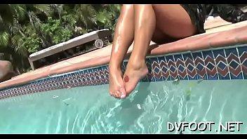 feet nylon lick Vacaciones en punta hermoza amateurpecom