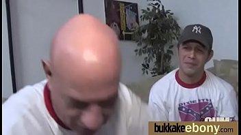 cum sucks woman out black Dorky masseusse fuck big titted blonde