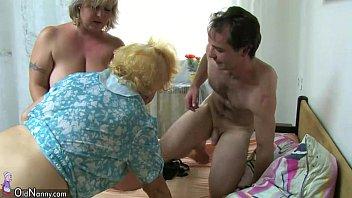 bbw newphew aunt and Adult work threesome