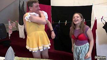 innocent pigtails teen virgin Littel babe father handjob
