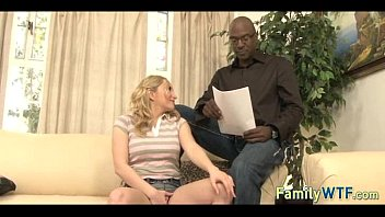 daughter makes stepdad cry black Homemade pegging compilation