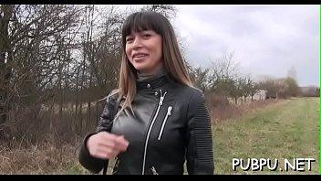 vagina les la marca se Jennifer white interracial creampie gangbang