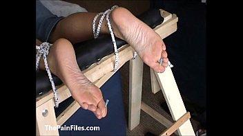 summer slave foot brielle Latex ponyboy riding