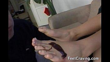 girl her licks feet Teen hard anal movie pink