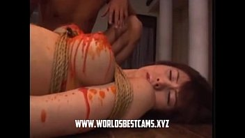 japanese subtitaled uncensored show game naked Ugly girl in bath room dick suck and spit