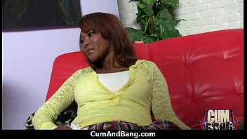 action ebony 3 aesthetic Ennie sweet gets horny as he urinates on her in the shower
